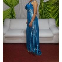 Vestido De Fiesta Marca Cinderella Perfecto Estado