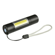Linterna Led Aluminio Led Flash Recargable Usb Estuche 1000l