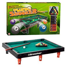 Mini Mesa Turbo Snooker Bilhar Sinuca Brinquedo + Frete