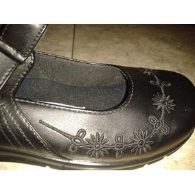 Zapato Escolar Floricienta Talla 34