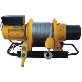 Malacate Electrico 1000 Kg 58 Mts De Cable Vel.13.5 Mts/min