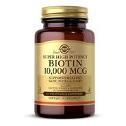 Biotina 10,000 Mcg Premium 60 Caps Cabello / Uñas Increíbles