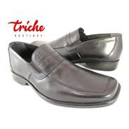 Calzado Caballero Negro Flexi 71508 Vestir Confort Mocasín