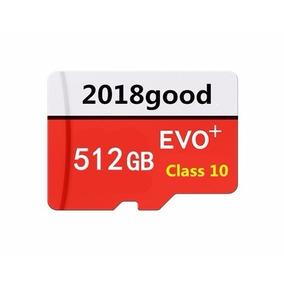 Cartão Micro Sd Classe 10, 512g Evo+