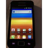 Celular Samsung Gt-s5830m Movistar Negro Muy Cuidado.