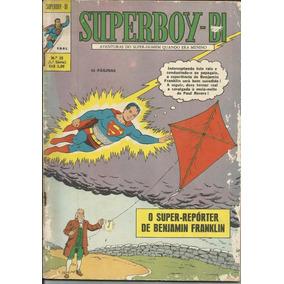 Hq Superboy-bi Nº 25 (1ª Série Ebal) 1971 - Frete Grátis