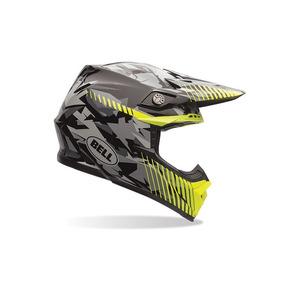 Capacete Bell Helmets Moto 9 Yellow Camo