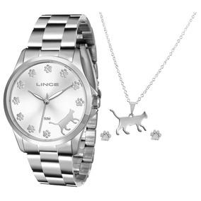 e96e2b49a1c Relogio Dourado Barato Lince - Relógios De Pulso no Mercado Livre Brasil