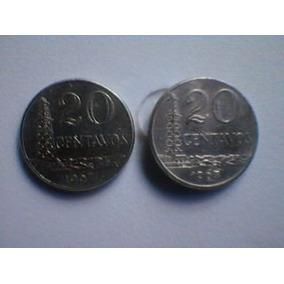Moeda De 20 Centavos De Cruzeiro 1967