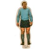 Figurita Silueta Tarjeton Futbol 1969 Idolos River Gironacci