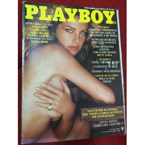 Revista Playboy 82 Luiza B Sydne Rome Sandra B Silvia Kriste