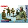 Modelo De Soldados 1:35 Meng Pilotos De Tanque Idf Plástico
