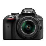 Nikon Reflex D3300 Kit 18-55mm Unica Garantia Oficial Nikon