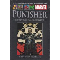 Punisher Bienvenido A Casa Frank P.2 Marvel Ed Salvat Nro 17