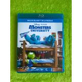 Película Blue Ray Monsters University