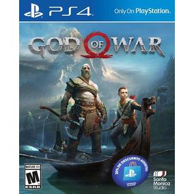 God Of War 4 Ps4 Fisico + Poster De Regalo (ya Disponible )