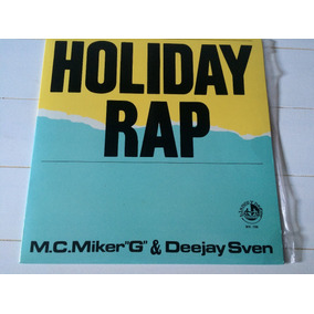 Holyday Rap Mc Miker & Deejay Sven Vinilo Maxi