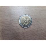 Moneda $ 1 Peso Unicef 1996 Bimetalica Excelente Estado