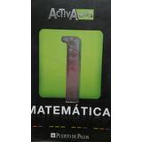 Matemáticas 1 Activados Editorial Puerto De Palos