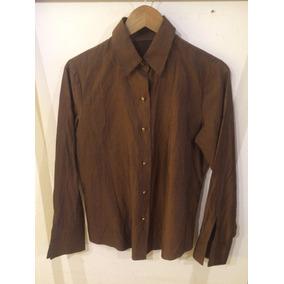 Camisa Vintage Color Chocolate
