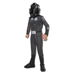 Disfraz Importado Para Niño De Piloto Star Wars