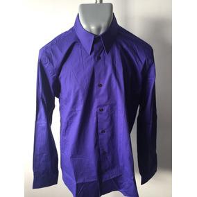 Camisa Express Original Morado Nueva Pero Sin Etiquetas