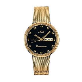 Mido Commander I Oro Amarillo Automático Pvd 37 Mm Reloj Un
