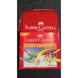 Faber Castell 24 Colores + 9 Accesorios + Estuche