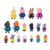 Mr Bigz 17 Unidades En 1, Peppa Pig Familia Cerditos Amigos