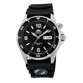 Relógio Orient Automático Mako Diver 200m Fem65004bw Preto