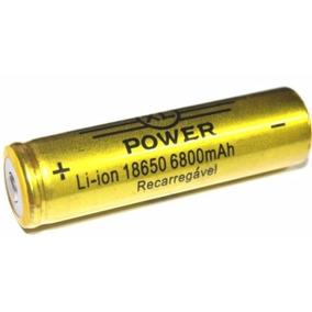 6 Baterias 18650 6800mah 4,2v Lanterna, Ferramenta, Notebook