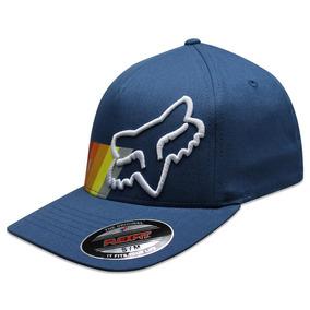 Gorra Fox Flex Fit Draftr Azul be231e1e10a