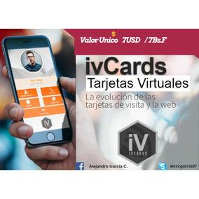 Nuevas Iv Cards Tarjetas Virtuales Personales, Negocio Etc..