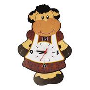 Relógio Parede Pêndulo Vaca Cozinha Vaquinha