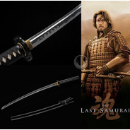 Espada Katana Filme O Último Samurai Tradicional Afiada
