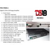 Amplificador Ds18 Pro Modelo Profr800.1 De 800 Watts Rms