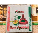Envelope Para Caixa Pizza 35cm Papel Strong 1000un. Fabrica!