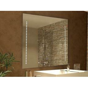 Espejo Grande Moderno Baño Aplique 1 Led 20w Integrado Dabor