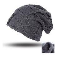 Gorro Touca Inverno Forrado Com Soft - Quente Confortável