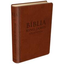 Bíblia De Estudo King James Frete Grátis - Marrom