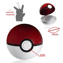Pokemon Go Pokebola Grande 10cm + Peluche Sorpresa