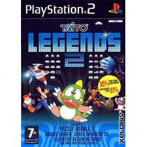 Comprar Jogos Patch Taito Legends 2 Play 2 C/39 Games Ps2