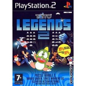 Comprar Jogos Patch Taito Legends 2 Play 2 C/39 Games Ps2