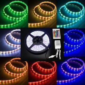 Kit Tira Led Rgb 5050 5mts Fuente 72w Mas Controlador Ip65