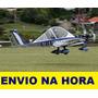 Projeto Avião Experimental Ultraleve Ulm Cri Cri Mc Biplace