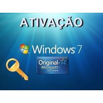 Chave De Ativação Windows 7