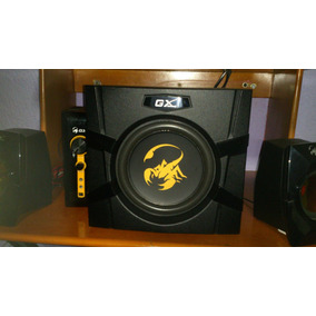 Home Theater Genius Gaming Gx 2.1 70 Watts De Salida Sourrro