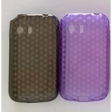 Capa Tpu + Película Plástico Celular Samsung Galaxy Y S5360