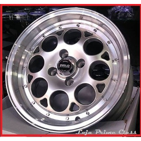 Par Rodas Weld Racing Aro17x7 5x100 Prata D +bicos C17 17