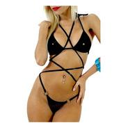 Bikini Corpiño + Castigadora 4 Aros Se 203 714
